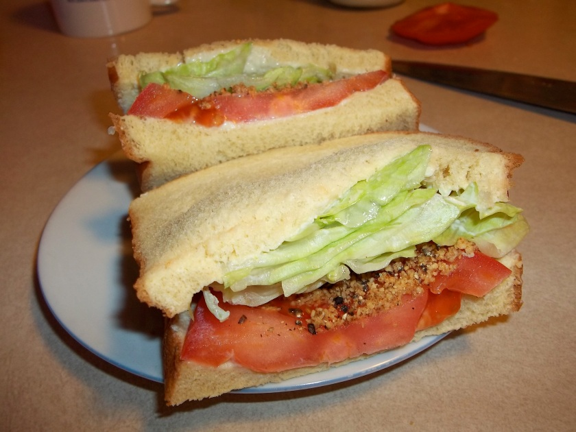 SHARON'S MEATLESS BLT