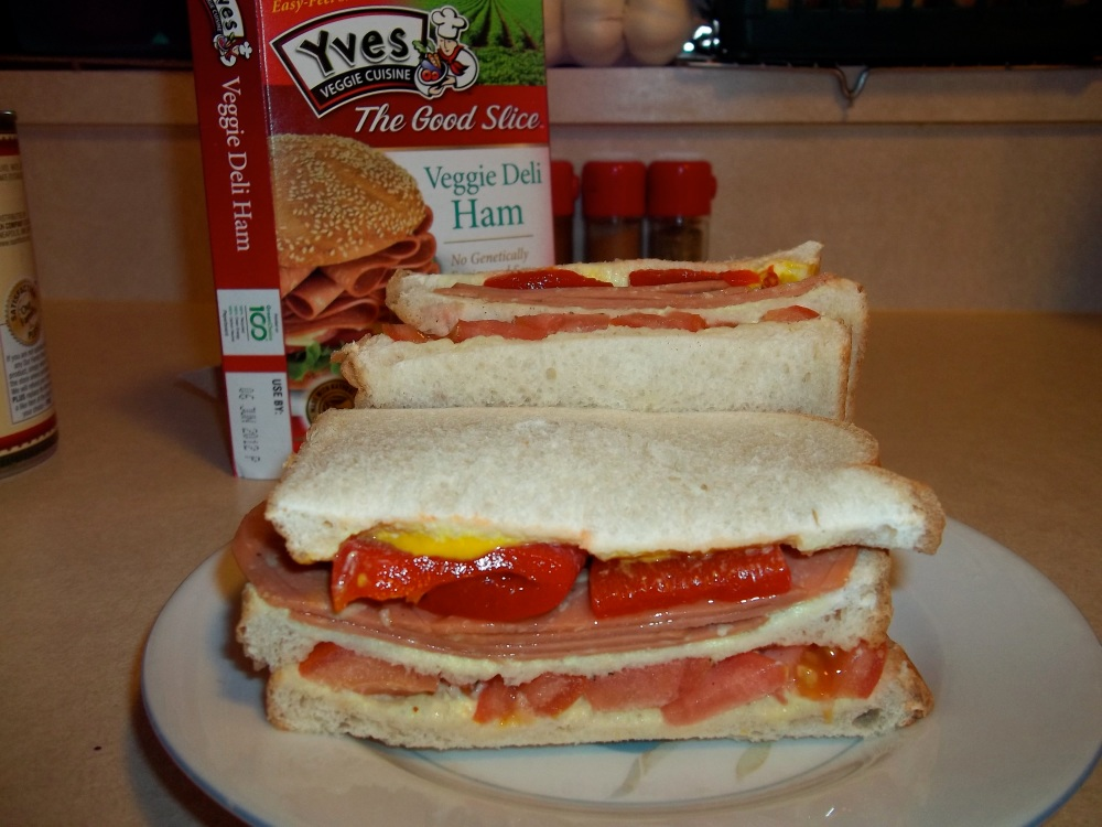THE HUNGRY MAN SANDWICH