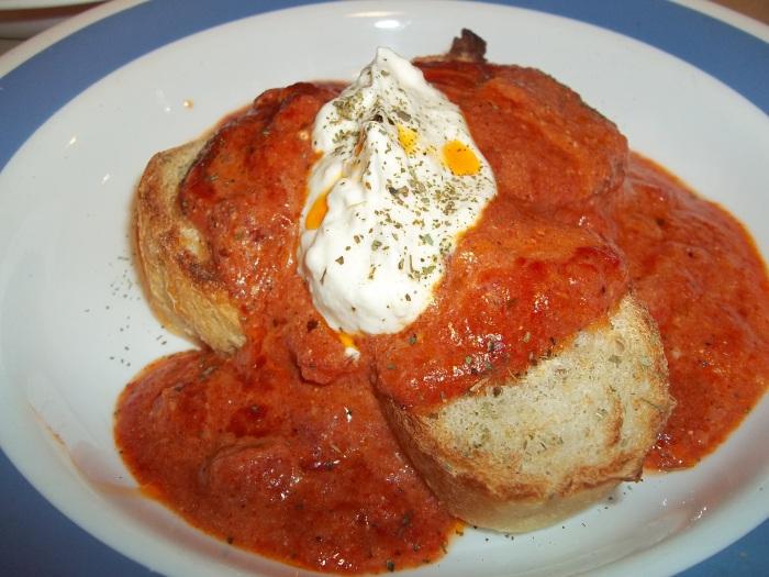FRENCH BREAD AND ITALIAN REDSAUCE