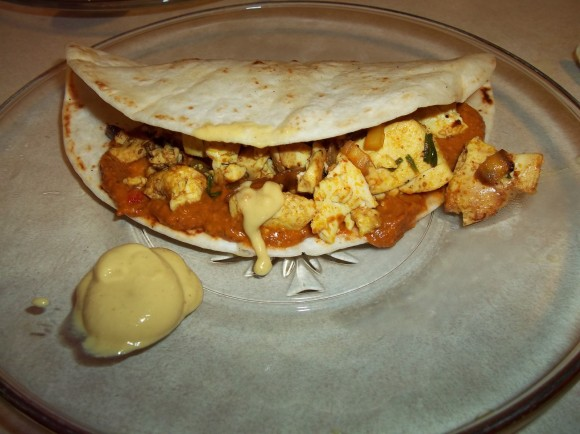 SCRAMBLED EGG TORTILLA