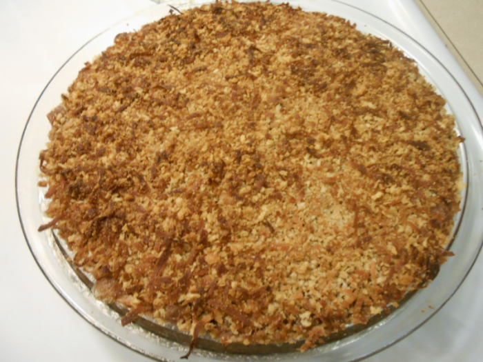 STEEL CUT OATMEAL BREAKFAST PIE