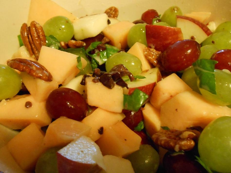 GREEK OLIVE FRUIT SALAD