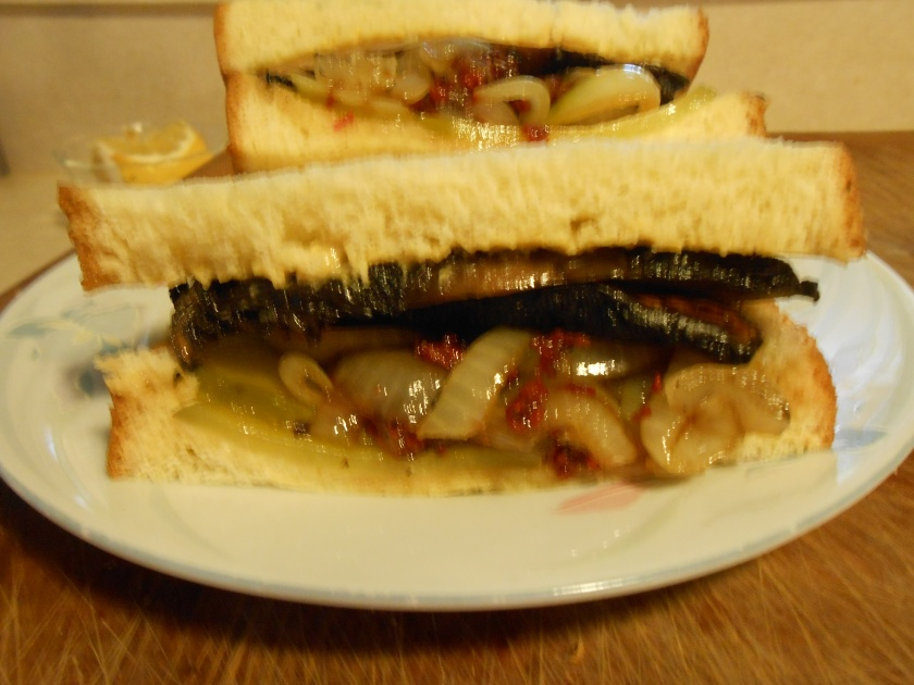 Portobella Steak Sanwich