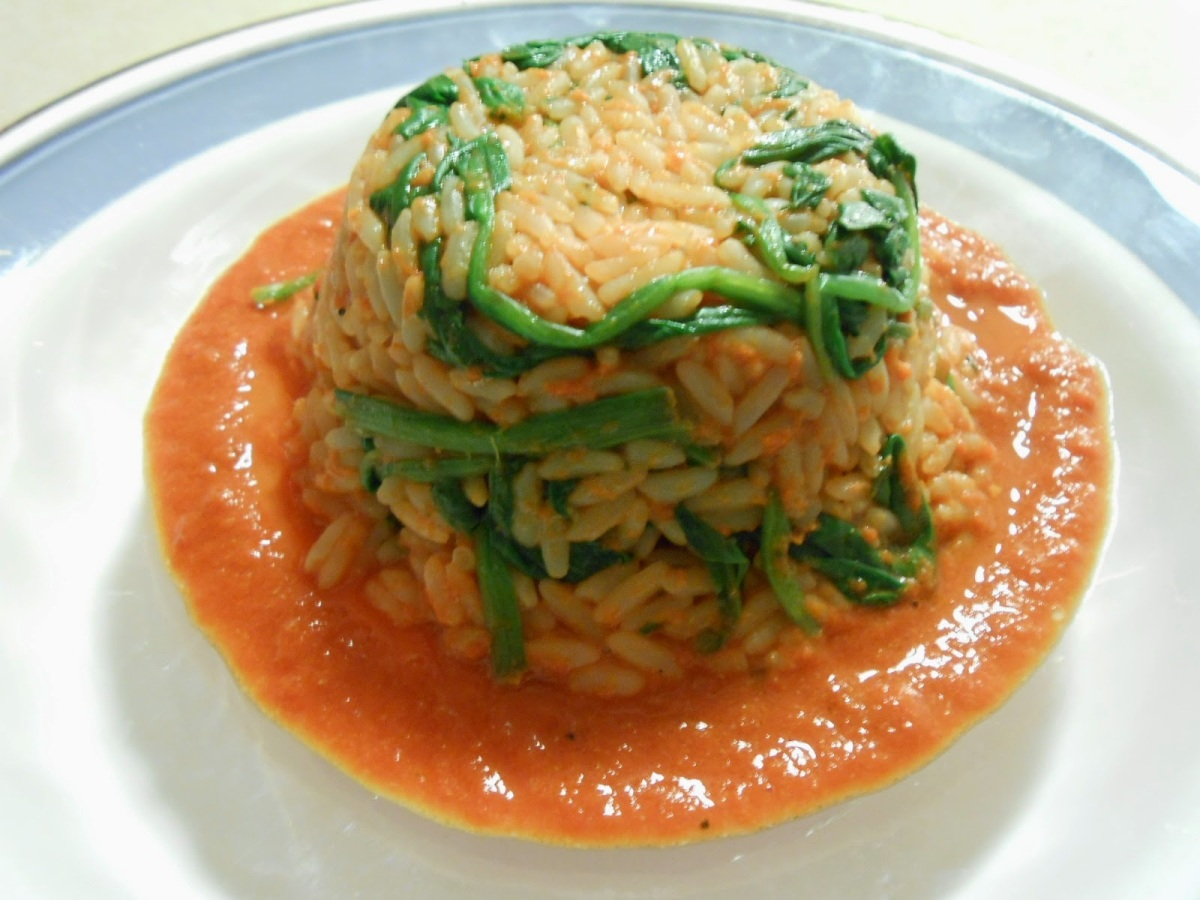 SPINACH RICE MOLDS