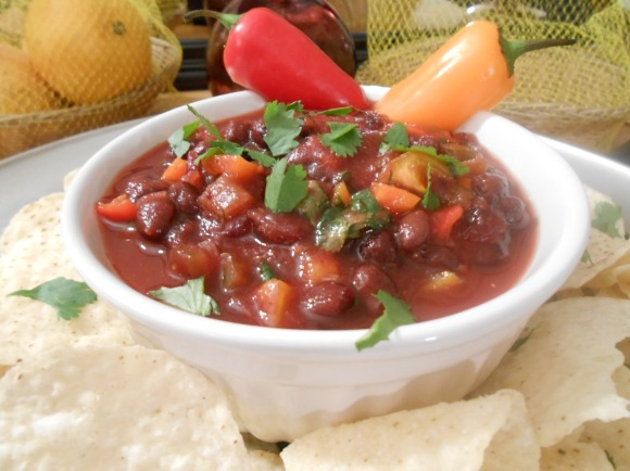 CRANBERRY BLACK BEAN SALSA