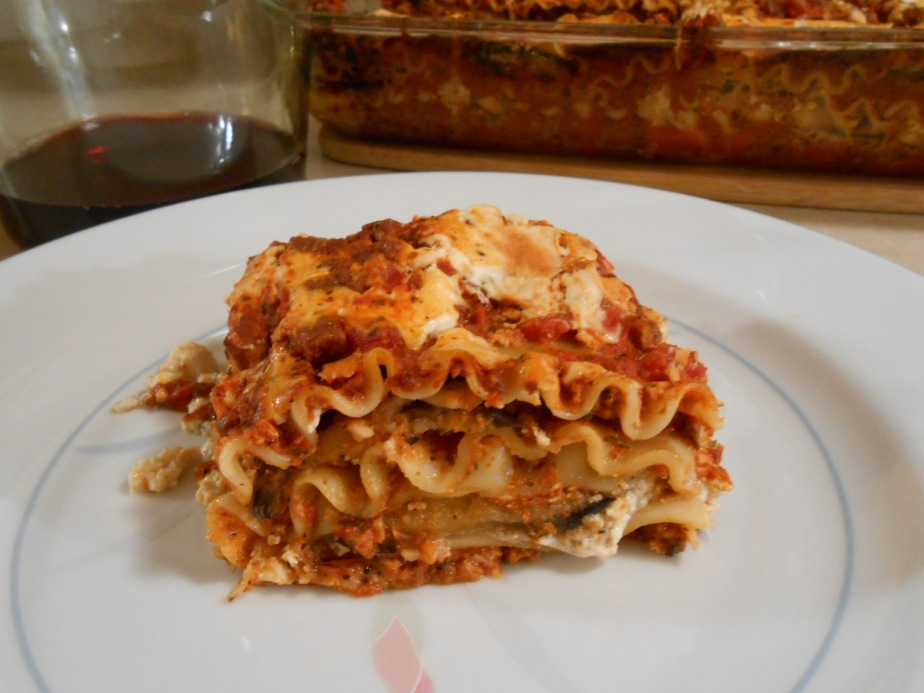 EGGPLANT MEATLESS MEAT LASAGNA