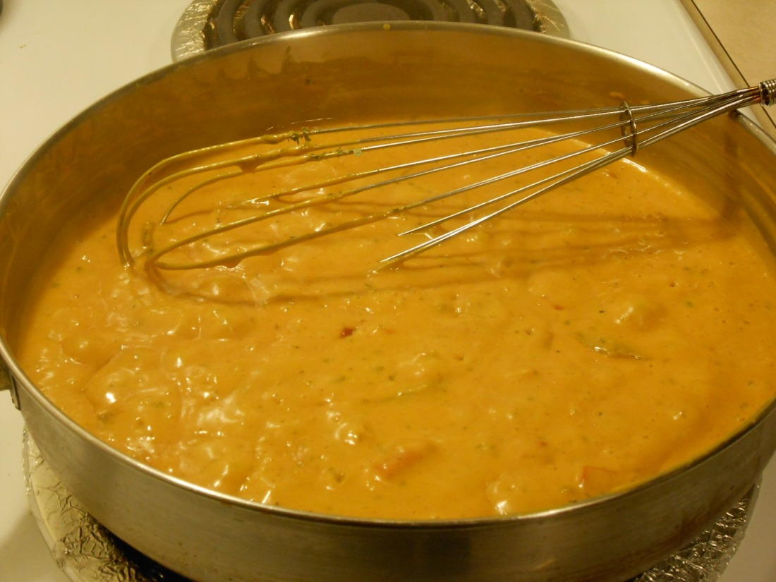 PEPPER CHEESE SAUCE SKILLET