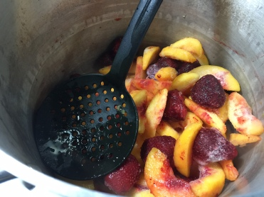 STRAWBERRY PEACH PRESERVES 1