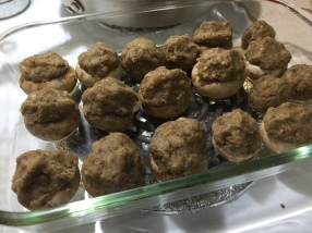 STUFFED MADEIRA MUSHROOMS 2
