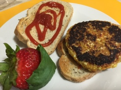 WESTERN CHEESE OMELET BURGER 3