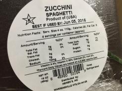 ZUCCHINI SPAGHETTI 2