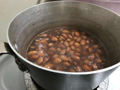 BOILED ALMONDS 2
