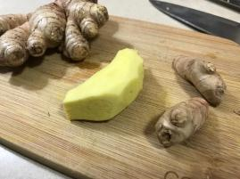 FRESH GINGER THUMB