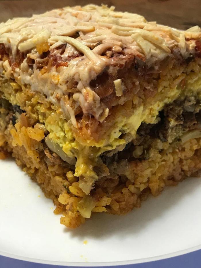 Jasmine Rice Lasagna