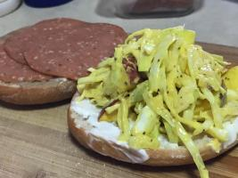 BAGEL MEAT AND SLAW 1