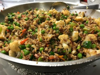 CAULIFLOWER FRIED RICE 3