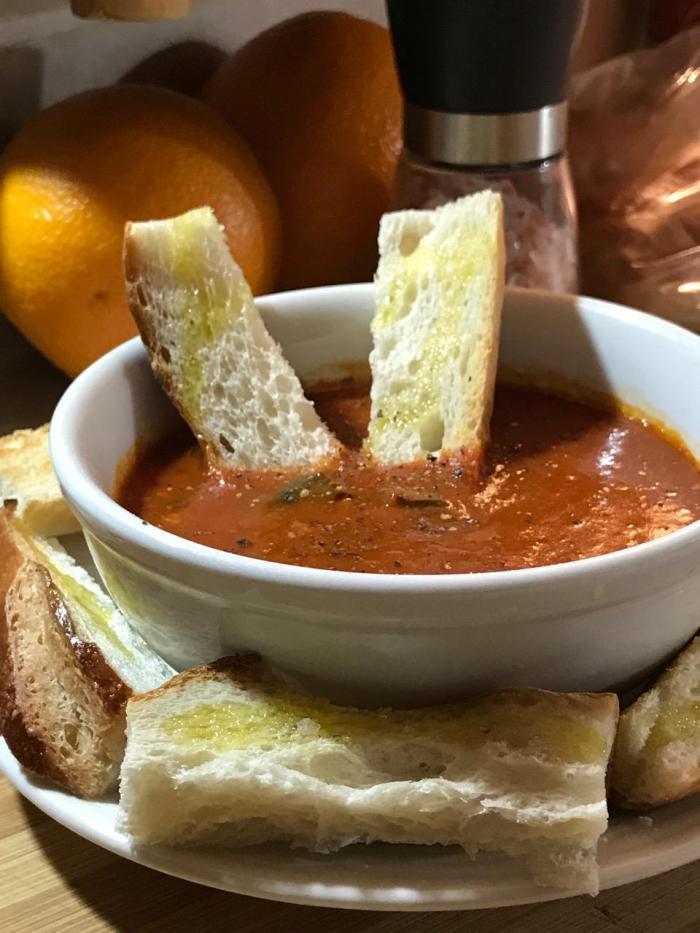 Tomato Soupy Sauce