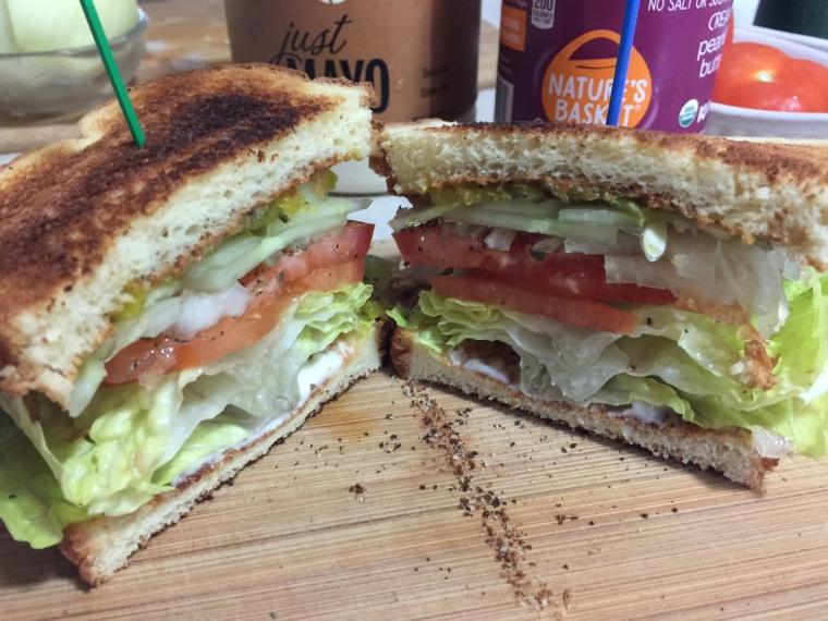 FATTY VEGGIE SANDWICH 2