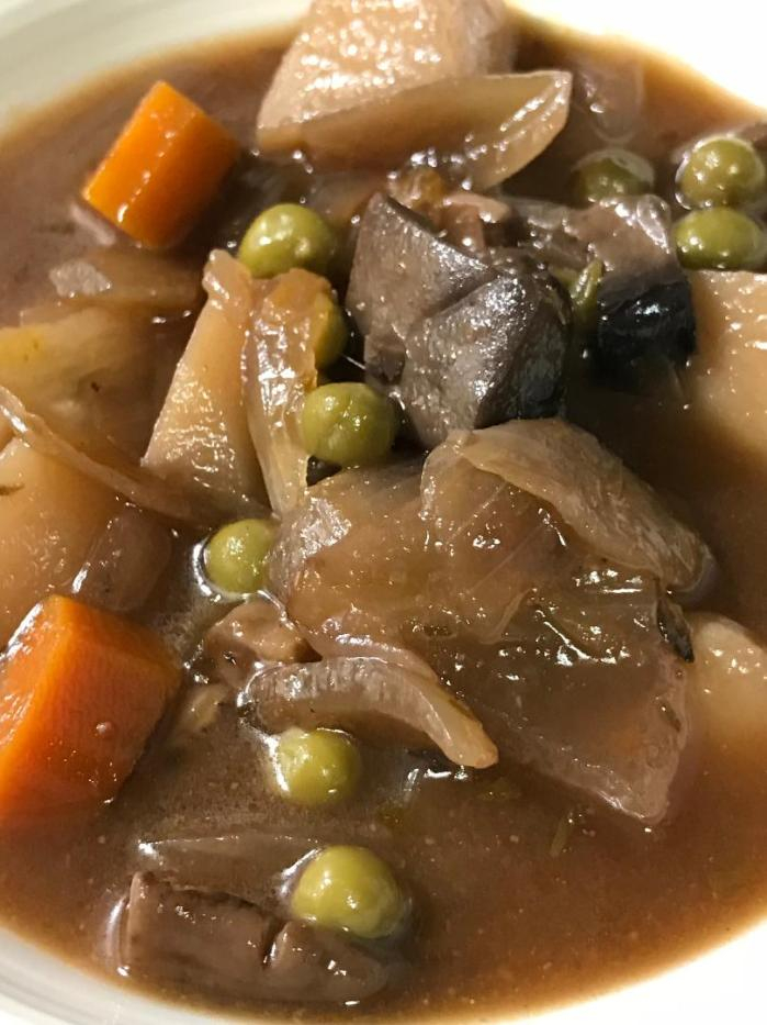 Mushroom Onion Stew