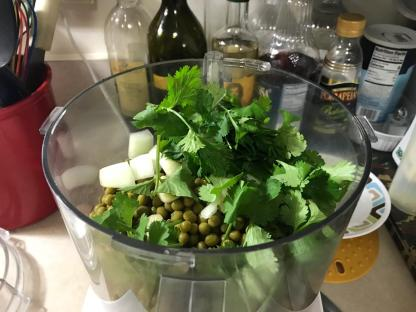 Smoky Bean And Pea Dip 1