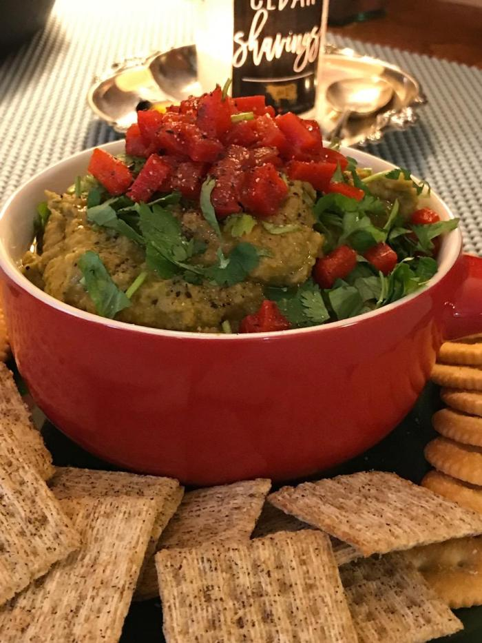 Smoky Bean And Pea Dip