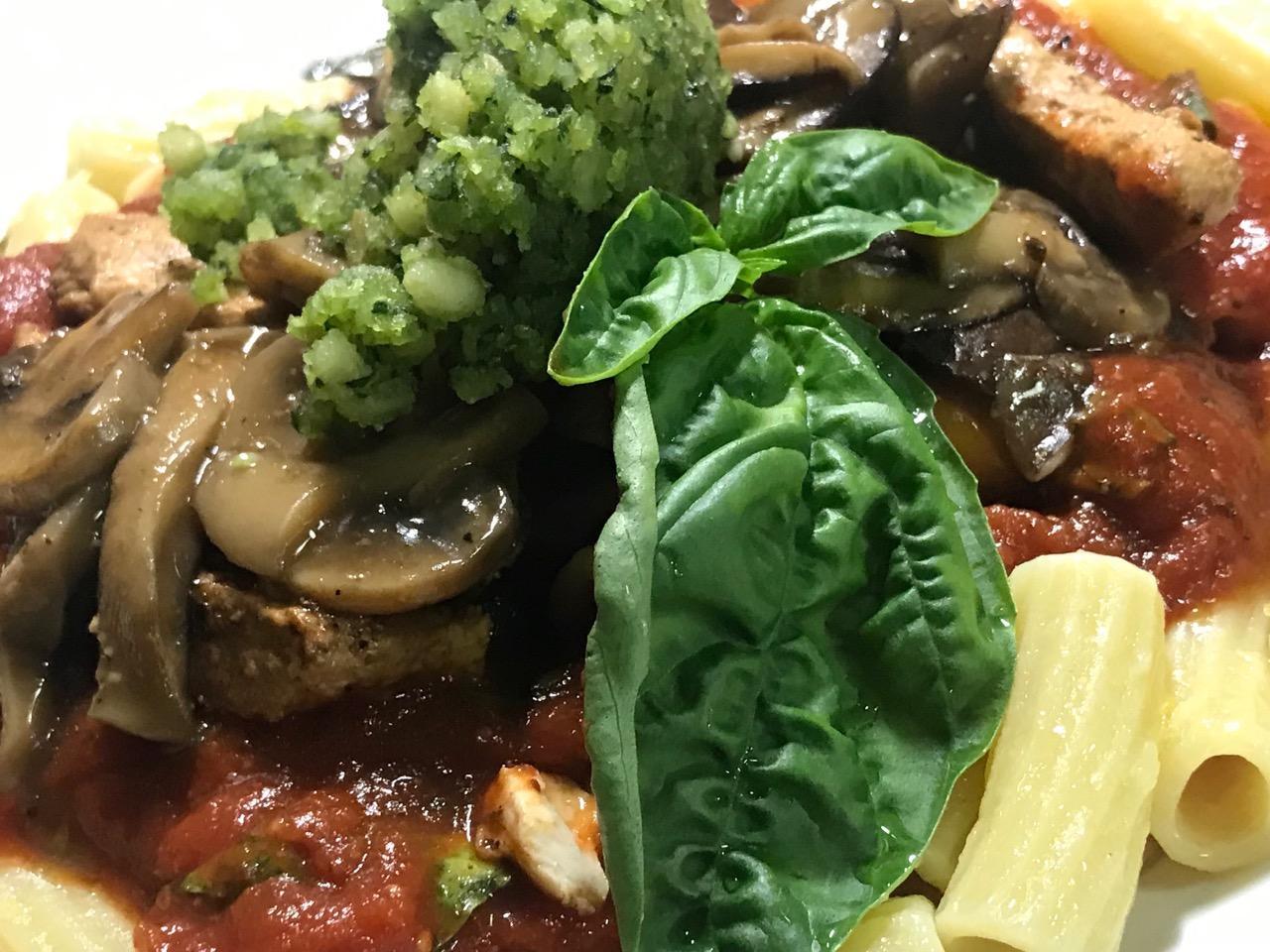 AFC Tomato Mushroom Chick'n Marsala