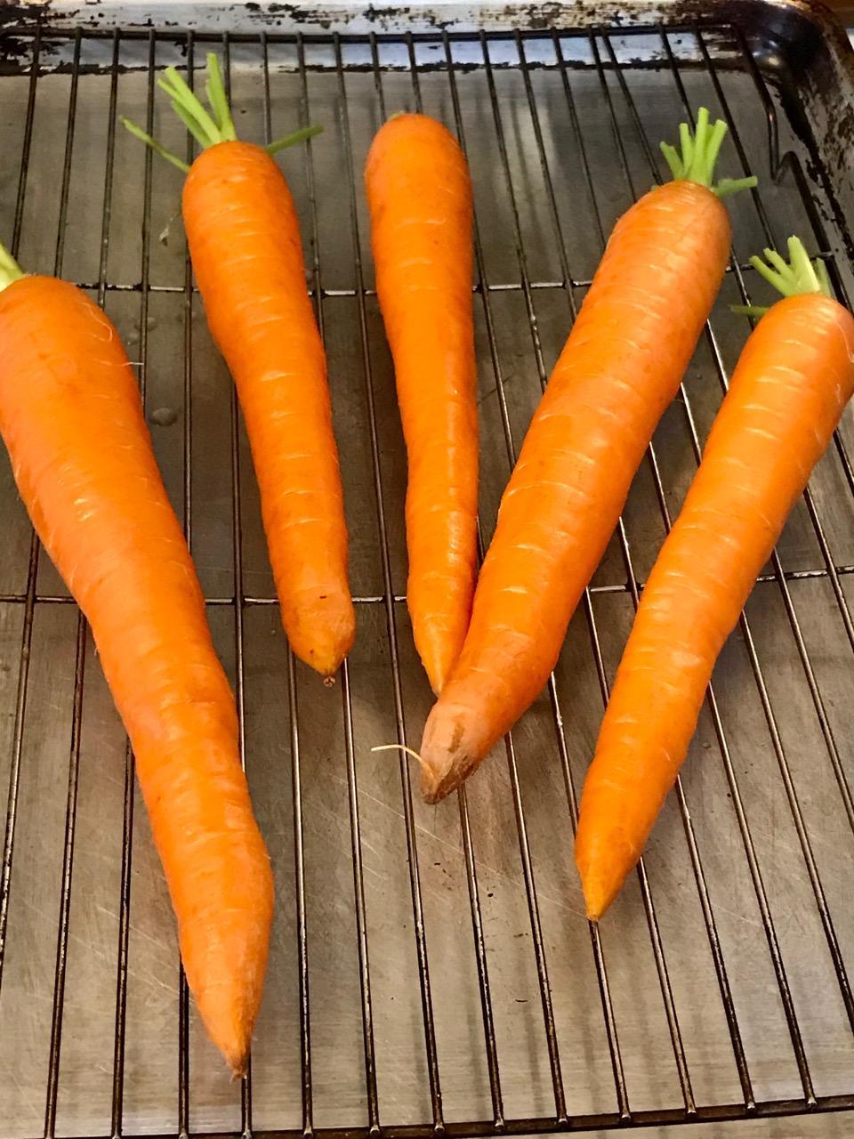 Fresh Roasted Fresh Carrots