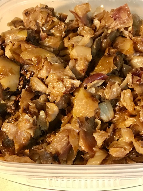 Caramelized Cabbage And Apple